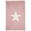 Castleton Home Star Hand-Woven Pink Area Rug