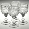 Premier Housewares Fleur 200ml Wine Glasses (Set of 4)
