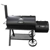 """Outdoor Leisure Products 36"""" Smoke Hollow Charcoal Grill with Smoker"""