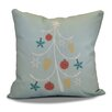 Beachcrest Home Decorative Holiday Geometric Print Outdoor Throw Pillow