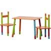 Zeller Present 3-tlg. Kinder-Sitzgarnitur Color aus MDF