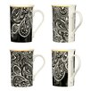 Wildon Home 4 Piece Paisley Dine Mug Set