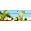 Pro-Art Rechteckiges Glasbild Cocktail With Lime I, Fotodruck
