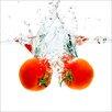 Pro-Art Glasbild Fresh Tomatoes, Fotodruck