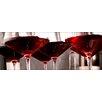 Pro-Art Red Wine I Rectangular Photographic Print on Canvas