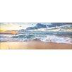 Pro-Art Rechteckiges Glasbild Waves I, Fotodruck
