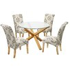 LPD Oporto Kensington Dining Table and 4 Chairs