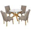LPD Oporto Verona Dining Table and 4 Chairs