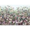 Komar Flourishing Botanical Garden 4m x 248cm 4 Piece Wall Mural