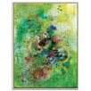 Artist Lane '3 Hours Later' by Lia Porto Framed Art Print on Wrapped Canvas