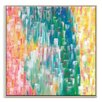 Artist Lane 'Tropic Falls' by Josie Nobile Framed Art Print on Wrapped Canvas