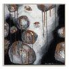 Artist Lane 'Mono Rocks' by Sherren Comensoli Framed Art Print on Wrapped Canvas