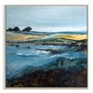 Artist Lane 'Break Waters' by Lydia Ben-Natan Framed Art Print on Wrapped Canvas