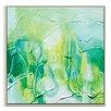 Artist Lane '62515' by Amanda Morie Art Print Wrapped on Canvas