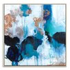 Artist Lane 'Mojo Risen' by Julie Ahmad Framed Art Print on Wrapped Canvas