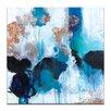 Artist Lane 'Mojo Risen' by Julia Ahmad Art Print on Wrapped Canvas