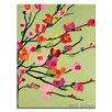 Artist Lane 'Karens Spring Day' by Anna Blatman Art Print on Wrapped Canvas