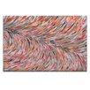 Artist Lane 'Rio Feather' by Josie Nobile Art Print on Wrapped Canvas