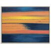 Artist Lane 'Sunset' by Gary Butcher Art Print Wrapped on Canvas