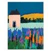 Artist Lane 'Daylesford' by Anna Blatman Art Print on Wrapped Canvas