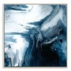 Artist Lane 'Flow 53' by Chalie MacRae Framed Art Print on Wrapped Canvas