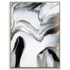 Artist Lane 'Flow 14' by Chalie MacRae Framed Art Print on Wrapped Canvas