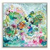 Artist Lane 'Agua' by Lia Porto Framed Art Print on Wrapped Canvas