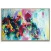Artist Lane 'Fae Flowers' by Amira Rahim Art Print Wrapped on Canvas