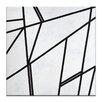 Artist Lane 'Geometric 7' by Chalie MacRae Art Print on Wrapped Canvas