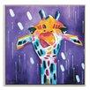 Artist Lane 'Purple Gino' by Amira Rahim Framed Art Print on Wrapped Canvas