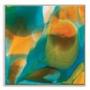 Artist Lane 'Flow 20' by Chalie MacRae Art Print Wrapped on Canvas