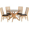 Home Loft Concept Chris Dining Set with 4 Chairs