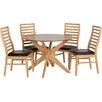 Home Loft Concept Essgruppe Chris mit 4 Stühlen