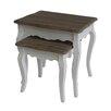 Home Loft Concept Skrollan 2 Piece Side Table Set