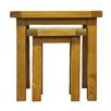 Hazelwood Home Ellie 2 Piece Nest of Tables