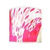 Chloe Croft London 20.3cm Magenta Flamingos 100% Polyester Drum Pendant Shade