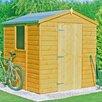 dCor design Prasco 6 x 6 Wooden Storage Shed