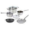 de Buyer Mineral B Element 5-Piece Non-Stick Cookware Set