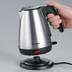 SEVERIN 1L Stainless Steel Electric Kettle in Black