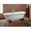 """Cheviot Products Regal 68"""" x 31"""" Soaking Bathtub with Continuous Rolled Rim"""