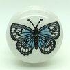 G Decor Big Butterfly Mushroom Knob (Set of 2)