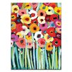 Artist Lane 'Shell's Poppies' by Anna Blatman Art Print on Wrapped Canvas