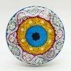 G Decor Mosaic Design Mushroom Knob (Set of 2)