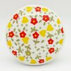 G Decor Flower Mushroom Knob (Set of 2)