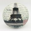 G Decor Eiffel Tower Round Knob (Set of 2)