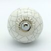 G Decor Crackle Round Knob (Set of 4)