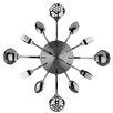 Premier Housewares Cutlery Wall Clock