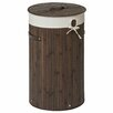 Castleton Home Kayo Round Wicker Laundry Bin