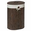 Castleton Home Kayo Oval Wicker Laundry Bin
