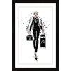 """Marmont Hill Gerahmtes Poster """"Queen Bae"""" von Loretta So, Grafikdruck"""